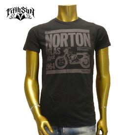 【あす楽】訳あり Fifth Sun (フィフス サン) Norton Motorcycles T-SHIRT / S/S / Men's Tシャツ / 半袖