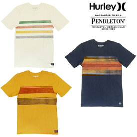 【あす楽】Hurley×PENDLETON コラボ / PENDLETON GLACIER / PENDLETON GRAND CAN / PEND YELLOWSTONE / TEE SS / NATIONAL PARK COLLECTION / ハーレー / ペンドルトン / T-Shirt / メンズ / AQ1550 / AQ1551 / AQ1552
