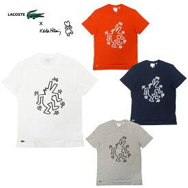 【あす楽】LACOSTE×Keith Haring SS PRINTED JERSEY TEE SHIRT / ラコステ / キース・ヘリング / コラボ / T-Shirt / Tシャツ / メンズ / TH4334