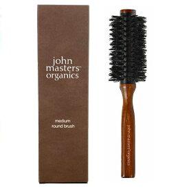 【あす楽】John Masters Organics / ジョンマスター ラウンドブラシ / ジョンマスターオーガニック / medium round brush / ミディアム ラウンド ブラシ / ヘアブラシ / ブラシ