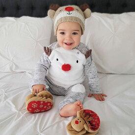 ホビー コスプレ 変装・仮装 コスチューム一式 クリスマス トナカイ ベビー 子供 男の子 女の子 ニューボーンフォト Qup