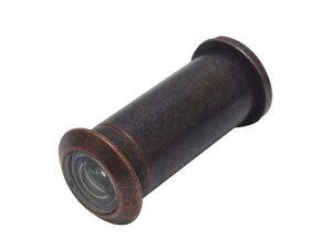 【メール便選択可】 玄関ドア ドアスコープ(防犯レンズ・ドアビューア) 6R-28 穴径12mm用【メーカー取り寄せ品】