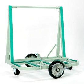 【送料無料】ガラス・サッシ等運搬用台車 ポータブルEVタイプ200kg積日本ベンリー ポニー PONY