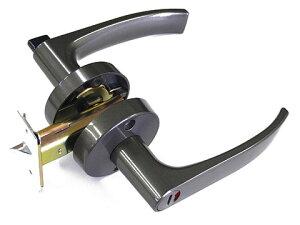 室内用 ドアノブ レバーハンドル 【表示錠タイプ】 GIA 32A-W 日中製作所【メーカー取り寄せ品】