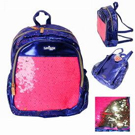 smiggle スミグル 子供用 女の子 小学生 幼稚園 園児 リュックサック ミニバックパック パープル Shimmy Teeny Tiny Backpack (PURPLE) かわいい (送料無料 宅配便)