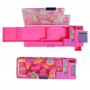 飛び出すギミック筆箱 お菓子柄 ピンク smiggle スミグル Far Away Pop Out Pencil Case(Pink) 送料無料 メール便