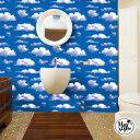ウォールステッカー 飾り 【 青空と曇り】 シール リアル 壁紙 飾り付け 飾りつけ 装飾 店内装飾 アメコミ 男の子 …