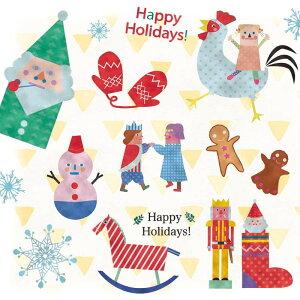 クリスマスツリークリスマス飾りウォールステッカー【ファンタジアクリスマス】60×90cmシール式壁シール壁紙はがせる剥がせる北欧木雑貨ガラス窓DIYサンタオーナメントパーティ飾りつけリースガーランド