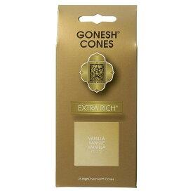 GONESH/ガーネッシュ 【クラシック バニラ お香コーン25ヶ入】gns-019