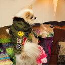 【ミリタリーワッペンコート】犬服 犬 服 好き 名入れ 名前入り 名前入れ プレゼント ギフト おしゃれ かわいい ジャケット コート ア…