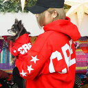 【ビッグロゴパーカー】犬服 犬 服 好き 名入れ 名前入り 名前入れ 愛犬とお揃いペアルック 母の日とお揃い 秋冬 ブランド おしゃれ か…