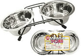 マルカン ペットのツイン 食器 餌皿 犬猫用M DC-36 (犬用の 食器 餌皿) #52266