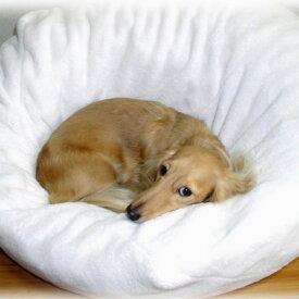 【あす楽】マシュマロクッション 本体 やわらかベッド / 犬用ベッド 猫ベッド おしゃれ ホワイト 白 マット ペット用 #53228