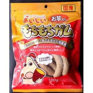 最大71%オフ★[九州ペットフード]KPF 犬用おやつ おいしいもちもちガムお芋入り 100g [国産][正規品] #w-101688