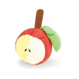 最大350円オフ★でっかいフルーツ リンゴ 犬用 おもちゃ 笛つき #w-102277 ペッツルート