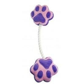 ペットプロ 足型ひっぱりロープ / 犬用 おもちゃ #w-121468