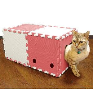 明和グラビア 猫トンネル 10P ピンク NT-02 ピンク #w-132793