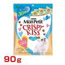 ネスレピュリナ モンプチ クリスピーキッス 贅沢おさかな味 90g(3g×30袋) / 4902201205504 猫 ネコ用フード ねこフード キャットフード cat #w-139007