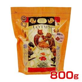 ロータスジャパン 穀物不使用 グレインフリー ターキーレシピ 成犬用 小粒 800g 4582259271357 #w-150293