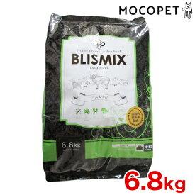 [ブリスミックス]BLISMIX ラムベース 中粒 口腔内善玉菌、乳酸菌EF-2001、アガリクス、グルコサミン、コンドロイチンを配合 ヘルシー ドッグフード 6.8kg 4589602260051 #w-151779