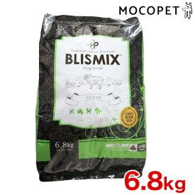 [ブリスミックス]BLISMIX ラムベース 小粒 口腔内善玉菌、乳酸菌EF-2001、アガリクス、グルコサミン、コンドロイチンを配合 ヘルシー ドッグフード 6.8kg 4589602260099 #w-151783