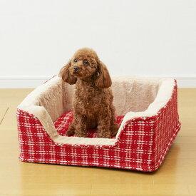 【あす楽】ボンビアルコン [アイラブペッツ]I LOVE PETS カドラークション レッド / あったか 冬用 防寒 4977082799091 #w-152999【犬ベッドSALE】
