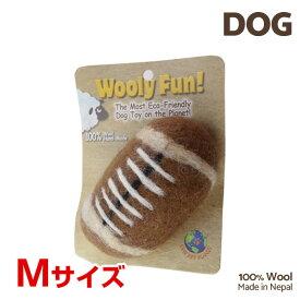 【7/26まで!マラソンSALE開催中☆】【あす楽】[ウーリーファン]Wooly Fun!! フットボール Mサイズ ウール おもちゃ 犬用 コスゲ 734663860250 w-154197-00-00