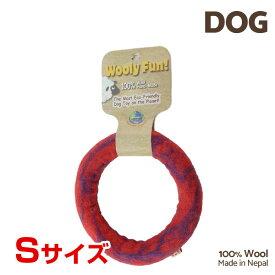 【7/26まで!マラソンSALE開催中☆】【あす楽】[ウーリーファン]Wooly Fun!! リング 5 レッドマーブル Sサイズ ウール おもちゃ 犬用 コスゲ 734663860878 w-154213-00-00