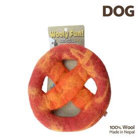 【7/26まで!マラソンSALE開催中☆】【あす楽】[ウーリーファン]Wooly Fun!! DISKS レッドマーブル ウール おもちゃ 犬用 コスゲ 734663860953 w-154230-00-00