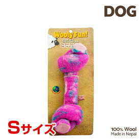 【7/26まで!マラソンSALE開催中☆】【あす楽】[ウーリーファン]Wooly Fun!! KNOTTED BONES 4.5 マジェンタ Sサイズ ウール おもちゃ 犬用 コスゲ 734663850114 w-154235-00-00