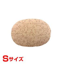 [リッチェル]Richell ペット用クッション オーバル Sサイズ ブラウン ベッド 犬 猫 4973655592243 #w-155171-00-00 犬用品 家具 ベッド・クッション