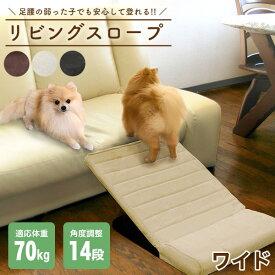 【あす楽】明和グラビア ペットスロープ ワイド PSW-60 アイボリー 犬用品 家具 ステップ・スロープ 4977932236035 #w-163113