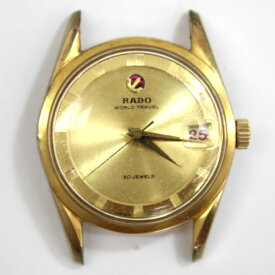 【RADO】 ラドー WORLD TRAVEL/ラドー ワールド トラベル メンズ 腕時計 自動巻き 30石【中古】