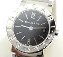【BVLGARI】ブルガリ ブルガリブルガリ BB26SS 黒文字盤 レディース 腕時計 クォーツ【中古】