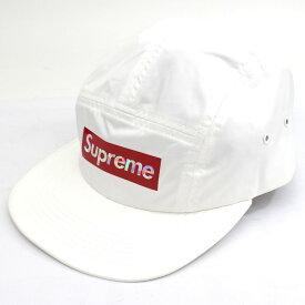 【未使用】SUPREME シュプリーム 19SS HOLOGRAPHIC LOGO CAMP CAP WHITE BOX LOGO キャップ 帽子 白 ボックスロゴ【中古】