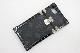 【LOUIS VUITTON】ルイヴィトン モノグラムエクリプス モノグラム アイトランク iphone7 ハードケース アクセサリー M64489 スマホケース【中古】