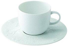 未使用品 ローゼンタール スタジオライン 魔笛ホワイト コーヒーカップ&ソーサー 2客セット 【中古】