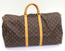 【LOUIS VUITTON】ルイヴィトン モノグラム キーポル55 バンドリエール55 ボストンバッグ ハンドバッグ 旅行鞄 M41414 男女兼用 ユニセックス【中古】