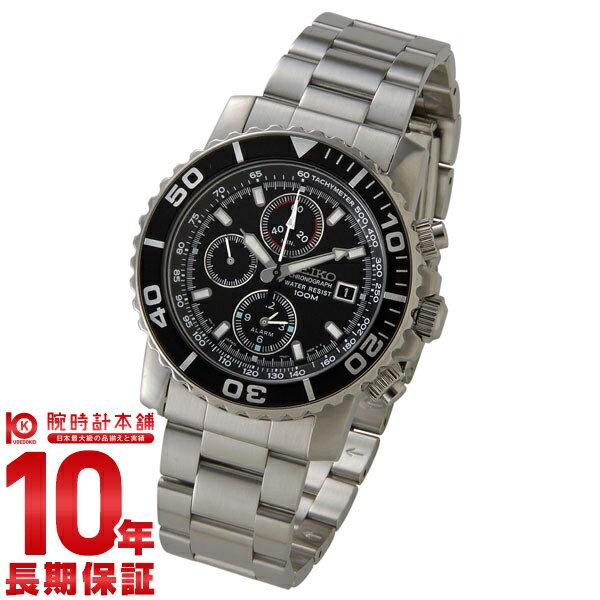 セイコー 逆輸入モデル SEIKO クロノグラフ 100m防水 SNA225P1(SNA225PC) [正規品] メンズ 腕時計 時計
