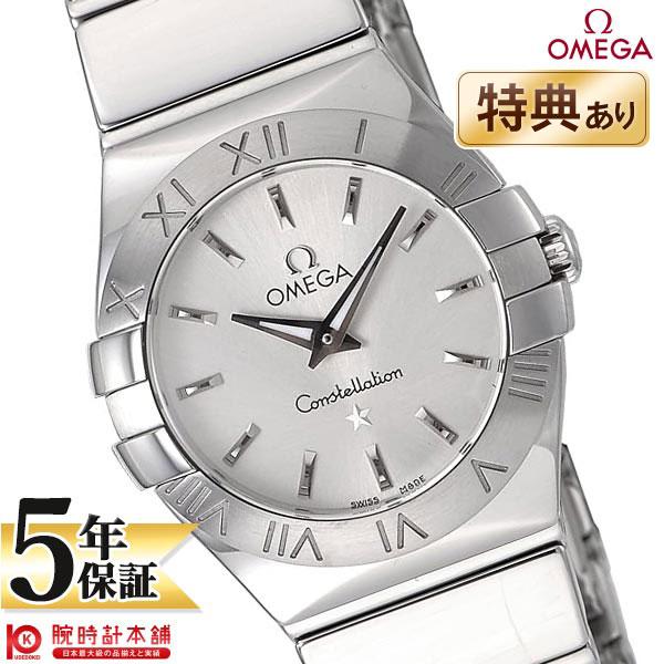 【ショッピングローン24回金利0%】オメガ コンステレーション OMEGA シルバー 123.10.24.60.02.002 [海外輸入品] レディース 腕時計 時計