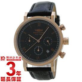 【店内最大ポイント37倍!30日限定!】 【最安値挑戦中】シャルルホーゲル CharlesVogele ピンクゴールド×ブラック CV-9013-0 [国内正規品] メンズ 腕時計 時計【あす楽】