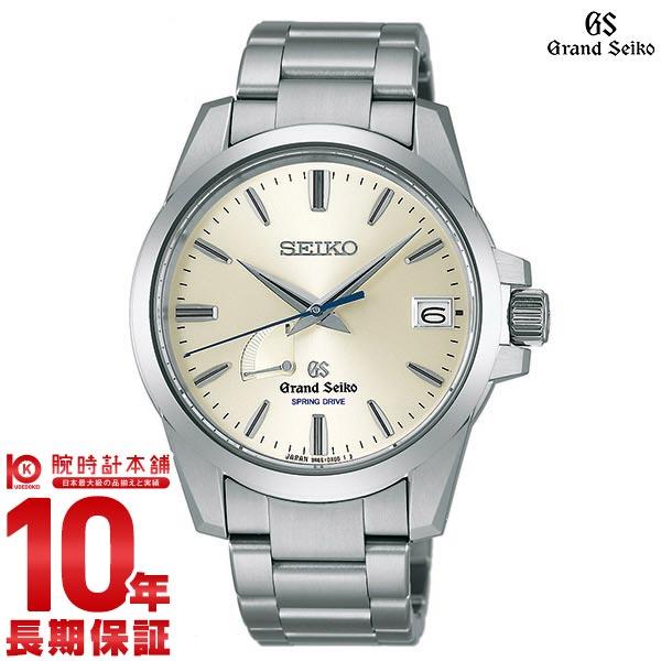 【ポイント10倍】【36回金利0%】セイコー グランドセイコー GRANDSEIKO 9Rスプリングドライブ 100m防水 機械式(自動巻き) SBGA079 [正規品] メンズ 腕時計 時計【あす楽】