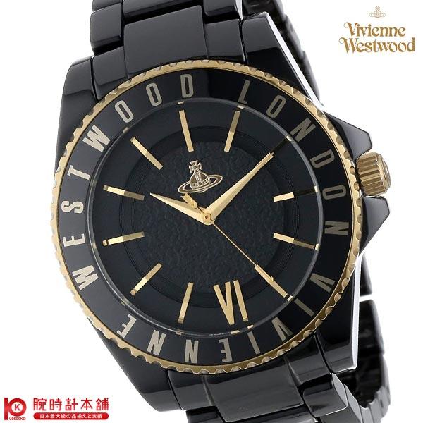【最安値挑戦中】ヴィヴィアンウエストウッド 腕時計 VivienneWestwood スローン セラミック VV048GDBK [海外輸入品] メンズ&レディース 腕時計 時計