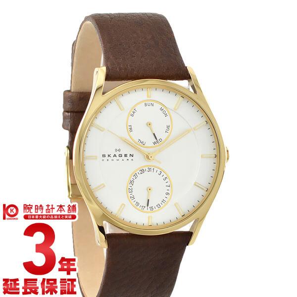 スカーゲン SKAGEN ホワイト×ゴールド SKW6066 [海外輸入品] メンズ 腕時計 時計【あす楽】