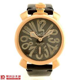 GaGaMILANO [海外輸入品] ガガミラノ 5011 VINTAGE BK メンズ 腕時計 時計【あす楽】