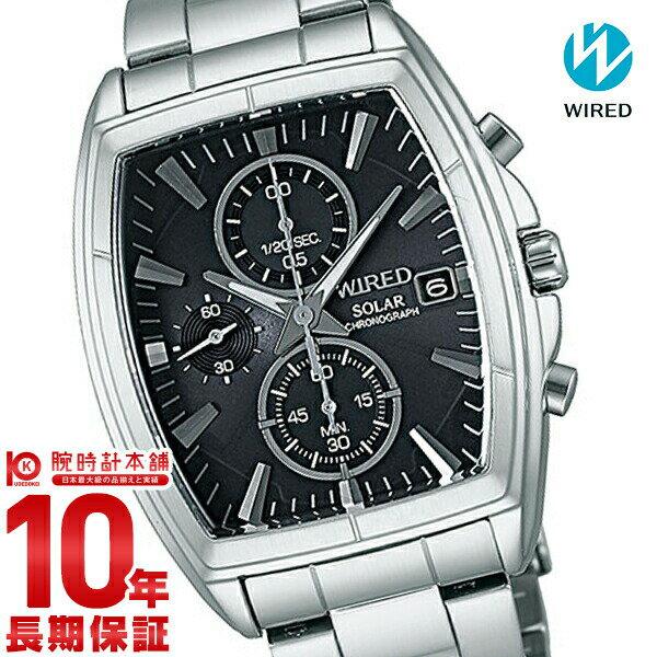 【ポイント10倍】セイコー ワイアード WIRED ソーラー ニュースタンダード 100m防水 AGAD054 [正規品] メンズ 腕時計 時計