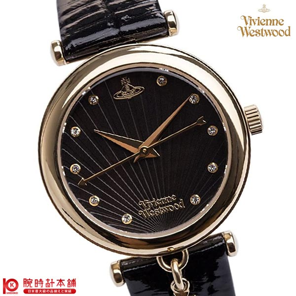 【最安値挑戦中】ヴィヴィアンウエストウッド 腕時計 VivienneWestwood VV108BKBK [海外輸入品] レディース 腕時計 時計