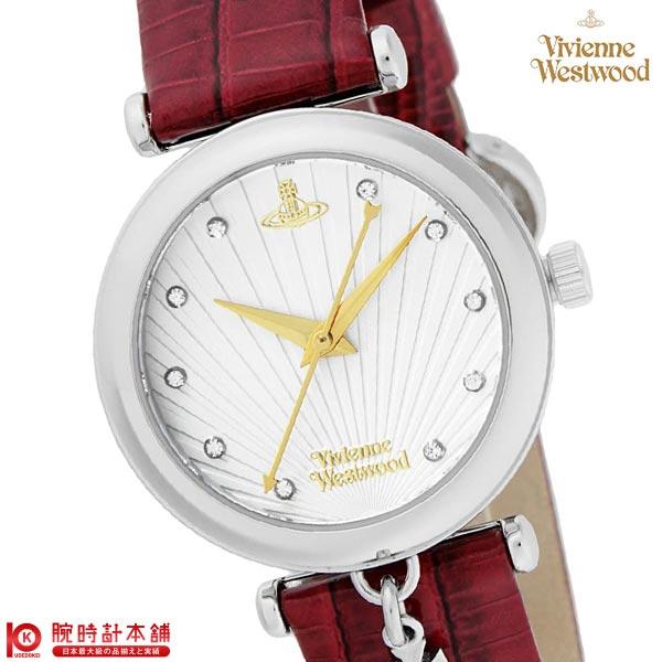 【最安値挑戦中】ヴィヴィアン 時計 ヴィヴィアンウエストウッド 腕時計 VV108WHRD [海外輸入品] レディース 腕時計 時計