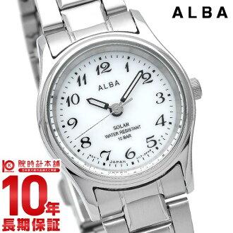 精工阿尔瓦阿尔巴精工太阳能 AEGD539 女式手表白色 #128044