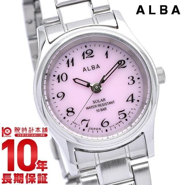 【ポイント最大9倍!19日23:59まで】セイコー アルバ ALBA ソーラー 10気圧防水 AEGD540 [正規品] レディース 腕時計 時計【あす楽】